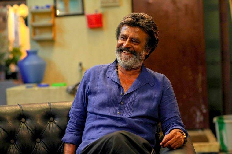 kaala stills with rajinikanth