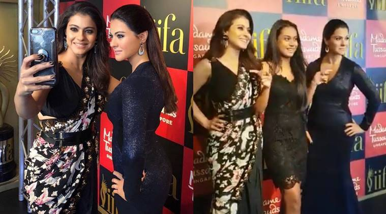 Image result for Kajol gets wax statue at Madame Tussauds Singapore