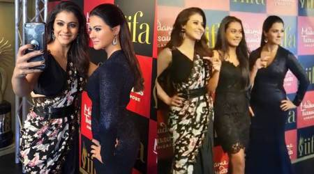 Kajol unveils her wax statue at Madame Tussauds, Ajay Devgn gives a funny reaction