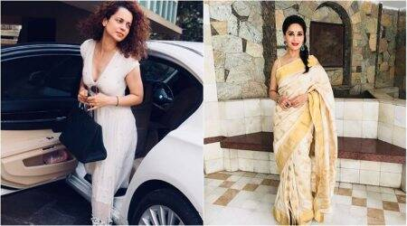 Bollywood Fashion Watch for May 25: From Madhuri Dixit's sari to Kangana Ranaut's breezy dress, celebs stun in white
