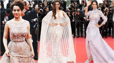 Deepika Padukone, Kangana Ranaut and Mallika Sherawat grace the red carpet at Cannes 2018
