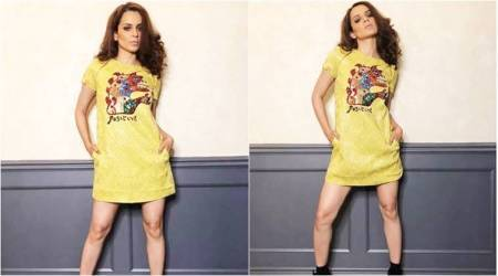 Kangana Ranaut is all sass and style in this fiery Dior mini