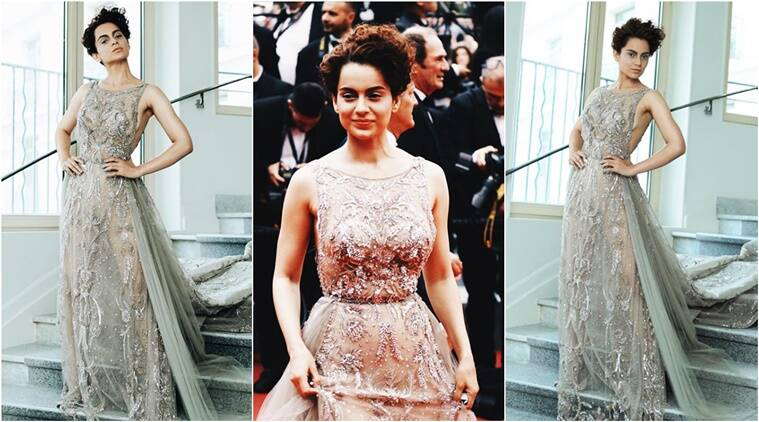 Cannes 2018  Kangana Ranaut looks sultry in a sheer Zuhair Murad ... 62b8456a246