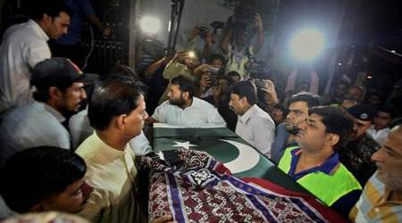 Body of Pakistani exchange student killed at Texas school arrives in Karachi