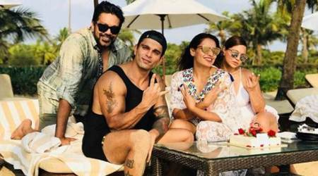 Bipasha Basu and Karan Singh Grover's wedding anniversary celebration in Goa is beyond adorable