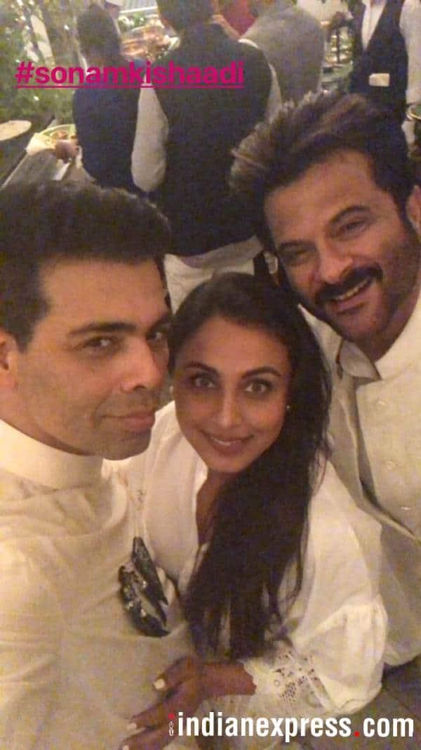 Karan Johar Rani Mukerji Anil Kapoor.