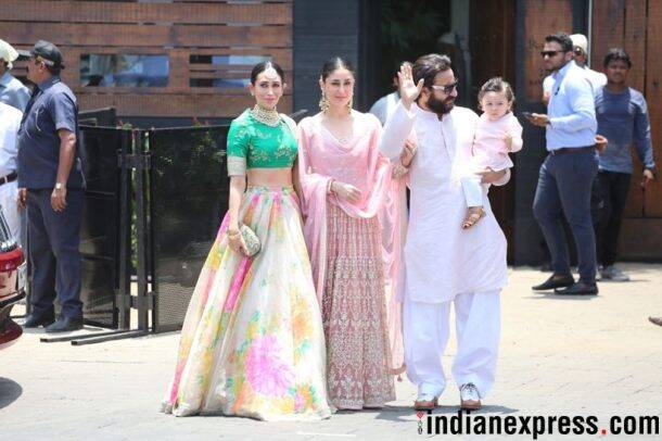 saif and kareena at sonam and anand's wedding