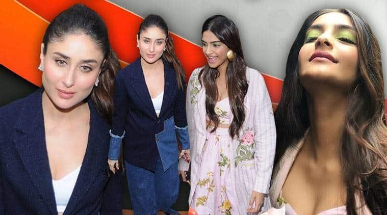 celeb fashion, Bollywood fashion, Kareena Kapoor Khan, Sonam Kapoor, Katrina Kaif, indian express, indian express news