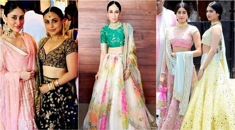 Sonam Kapoor wedding, Kareena Kapoor ,Karisma Kapoor, Janhvi Kapoor, Khushi Kapoor, fashionable bollywood sisters, sisters style together. bollywood sisters, indian express, indian express news