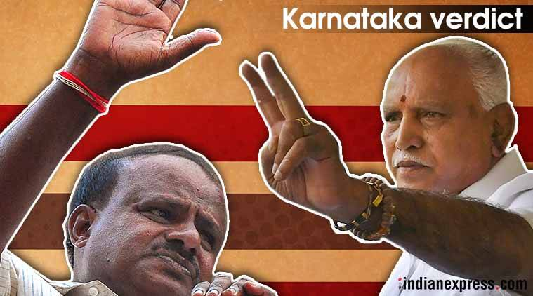 Karnataka Assembly Elections results 2018: BJP largest party, Congress-JD(S) ally