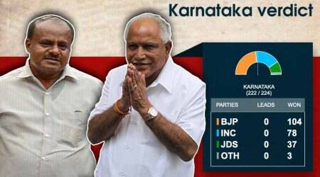 Karnataka Election Results 2018 highlights: BJP's Yeddyurappa is CM, Rahul Gandhi says 'mockery of Constitution'