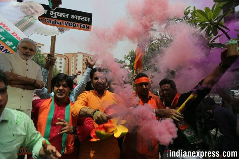 Karnataka Election Results 2018: Celebrations begin as BJP retains the southern state