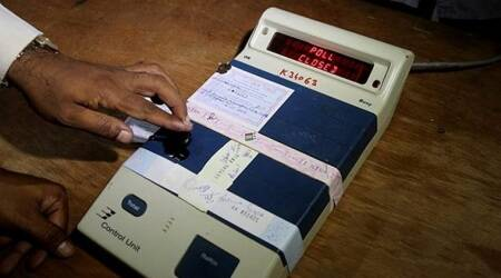 Bypolls, bypolls in Gujarat, bypolls in Gujarat, Election commission of India, Indian Express
