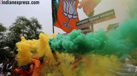 Karnataka Election Results 2018 in photos: From celebration to worry — dramatic change in mood at BJP HQs