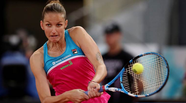Karolina Pliskova SMASHES umpire's chair and sister launches scathing attack on Twitter