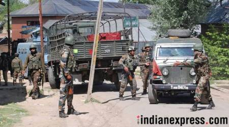 Encounter breaks out between militants, security forces inJ-K
