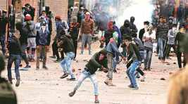In fact: Stone-pelting in Kashmir used to be a weapon for the powerless but is now a tool for theirresponsible