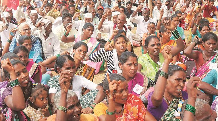 Set to lose land to bullet train, tribals protest in Mumbai