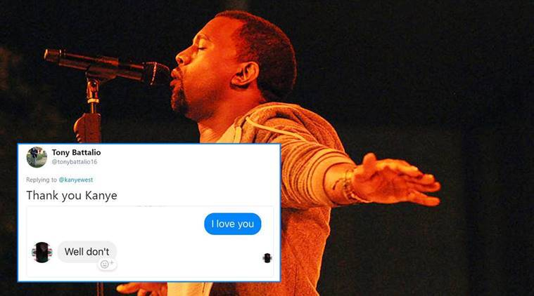 Kanye West S I Love You Challenge Backfires Twitterati Say Some People Just Don T Like Love Trending News The Indian Express