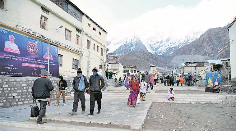 Pilgrim's progress in Kedarnath, brick by brick in tough terrain, difficult weather