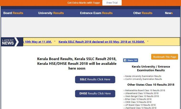 Kerala Plus One +1 result 2018 Highlights: Result announced