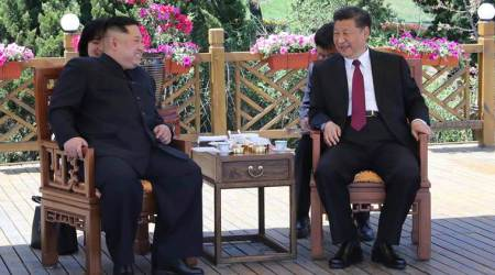 North Korean leader Kim Jong Un visits China, meets with Xi Jinping