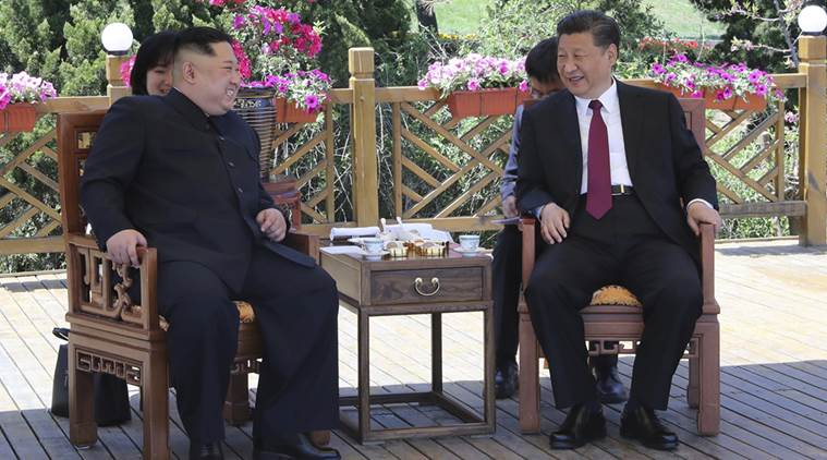 China's leader Xi Jinping looms large over North Korean anniversary