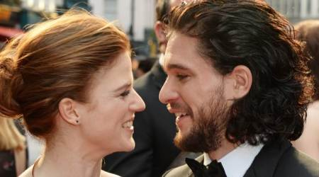 Kit Harington and Rose Leslie's wedding invitations have a little Game of Thrones touch