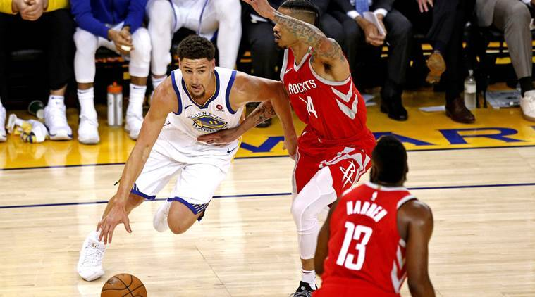 NBA Playoffs NBA Playoffs: Golden State Warriors force Game 7 with 115-86 rout of Houston Rockets NBA Playoffs: Golden State Warriors force Game 7 with 115-86 rout of Houston Rockets klay thompson 759