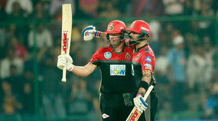 AB de Villiers and Virat Kohli combinedly scored more than 40% of RCB's total runs in IPL 2018 (photo source - IANS)