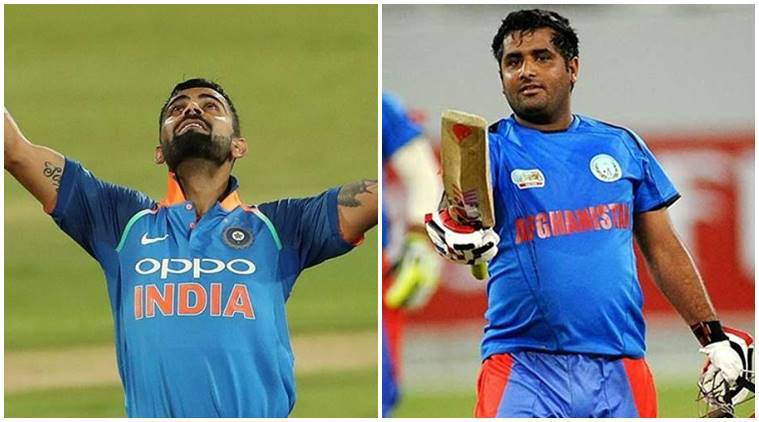 Mohammad Shahzad said that he can hit longer sixes than Virat Kohli