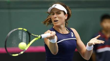 Johanna Konta hopes Andy Murray can recover in time for grass-court season