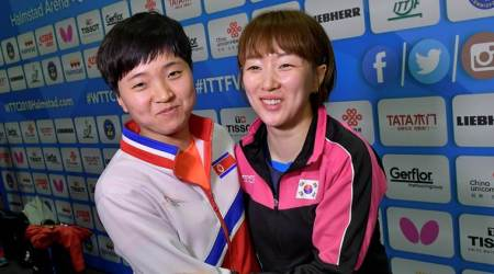 North, South Korea form unified team at Table Tennis World Championships