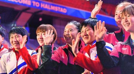 North and South Korea combine for World Team Table Tennis Championships
