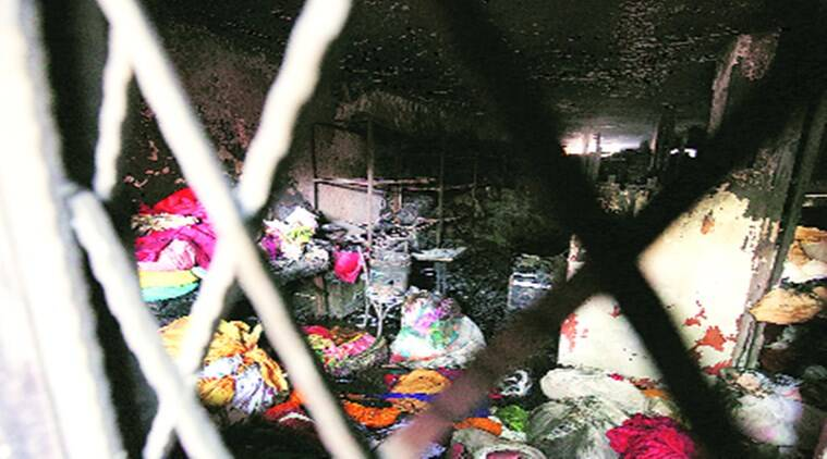 Delhi: Two workers charred in godown fire at Kotla Mubarakpur