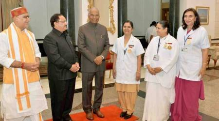 International Nurses' Day: President Kovind calls nurses 'true nation-builders'