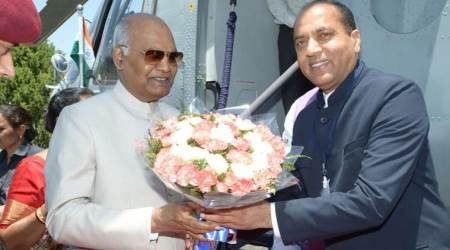 President Ram Nath Kovind on a six-day visit to Shimla, gets red carpet welcome on arrival