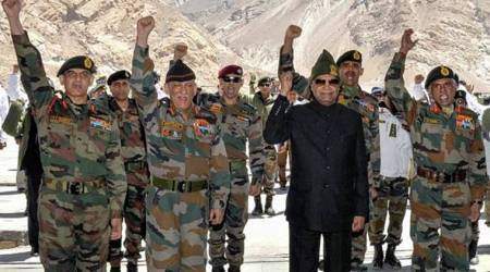 Ram Nath Kovind becomes second president to visit Siachen, tells soldiers 'your valour makes usconfident about bordersafety'