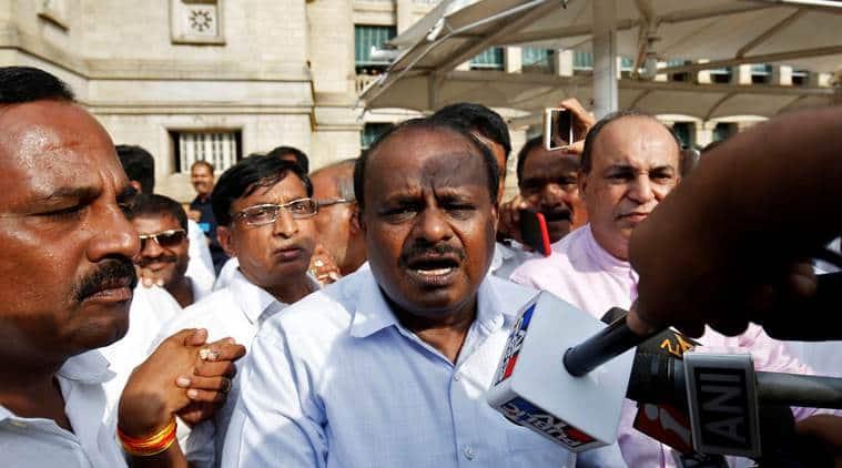 Karnataka CM-designate Kumaraswamy dismisses reports of sharing power onrotational basis with Congress