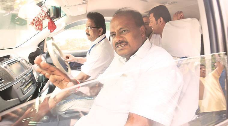 h d kumaraswamy, Karnataka, karnataka cm, jd(s)-congress alliance, Narensra Modi, Indian national congress, karnataka govt loan waiver, telangana model of farm loan waiver, karnataka government portfolos, indian express