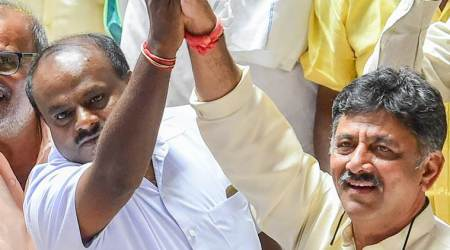 Karnataka govt formation HIGHLIGHTS: Kumaraswamy to lay roadmap for next five years in meeting with Sonia, Rahul