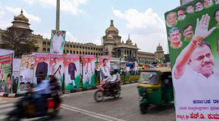 Kumaraswamy swearing-in LIVE: Opposition power play in Karnataka