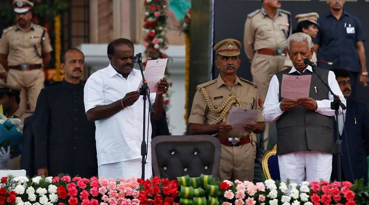 Kumaraswamy swearing-in: BJD maintains equal distance from Congress, BJP