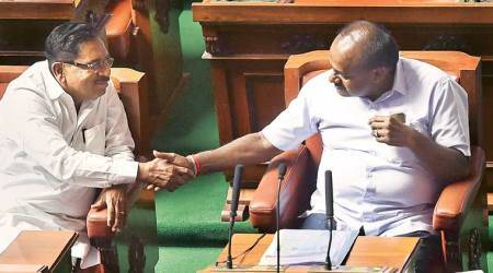 Karnataka Cabinet expansion: Kumaraswamy retains Finance, Dy CM assigned Home
