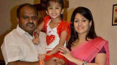 Actor Radhika married HD Kumaraswamy on 2006