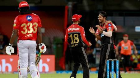 IPL Highlights KXIP vs RCB: Umesh Yadav on song, singes Kings XI