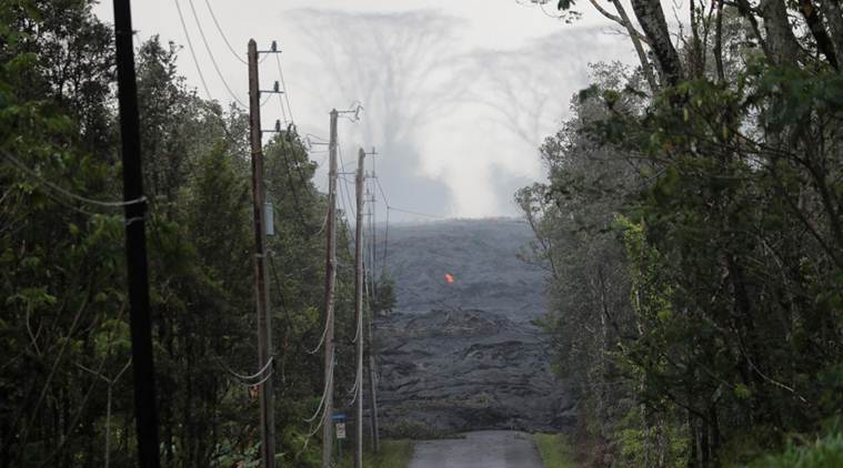 Fast lava from Hawaii's Kilauea volcano closes highway
