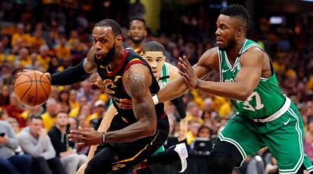 NBA Playoffs: LeBron James' 44 helps Cleveland Cavaliers even series with Boston Celtics