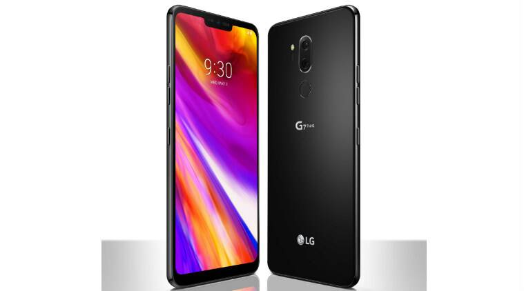 LG G7 ThinQ, LG G7 price, LG G7 ThinQ specifications, LG G7 ThinQ features, LG G7 launch in India, LG G7 ThinQ vs iPhone X, LG G7 ThinQ vs Galaxy S9, Android, Google Assistant