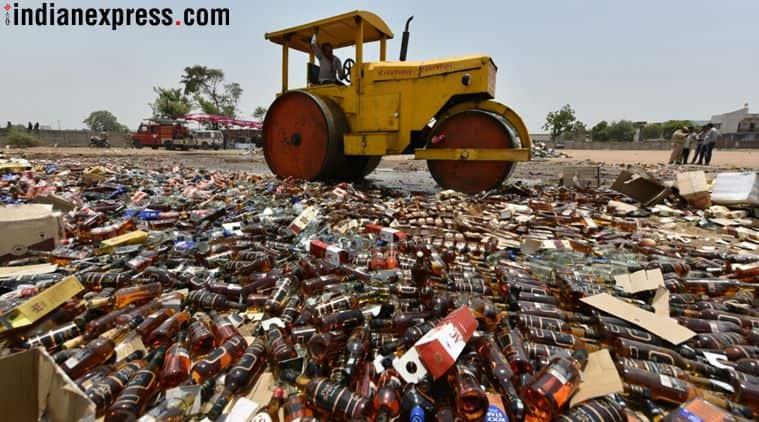 One crore of liquor Gujarat couldn't drink